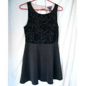 Wet Seal Little Black Dress w/ Lace Top